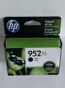 Genuine HP 952XL Black High Yield Ink Cartridge Nov 2021 F6U19AN OEM
