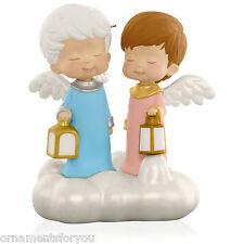 Hallmark 2015 Let It Shine Mary's Angels Magic Christmas Ornament