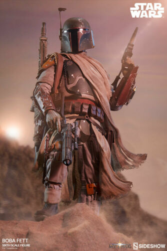 "Sideshow Star Wars Mythos Collection Boba Fett 1//6 Scale 12/"" Figure In Stock"