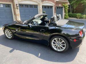 2008 BMW Z4 black