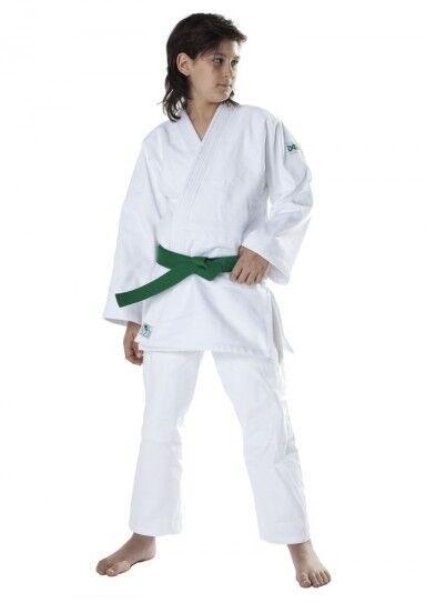 DAX DAX DAX JUDOGI KIDS, WEISS, in 130cm. 100% Baumwolle, ca. 450 g m². Judoanzug, Judo  | Exquisite Verarbeitung  | Zuverlässiger Ruf  9aebf5
