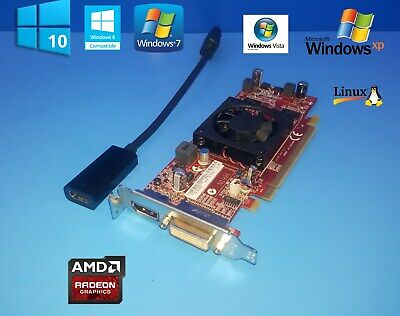 DisplayPort Video Card Optiplex 5040 7040 SFF 1GB Dell AMD Radeon HD 7470 DVI