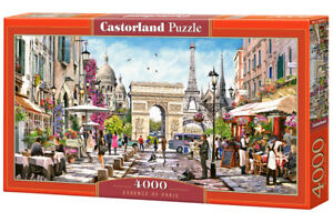 "Castorland Puzzle 4000 Pieces - PARIS - 138x68cm 54""x27"" Sealed box C-400294"