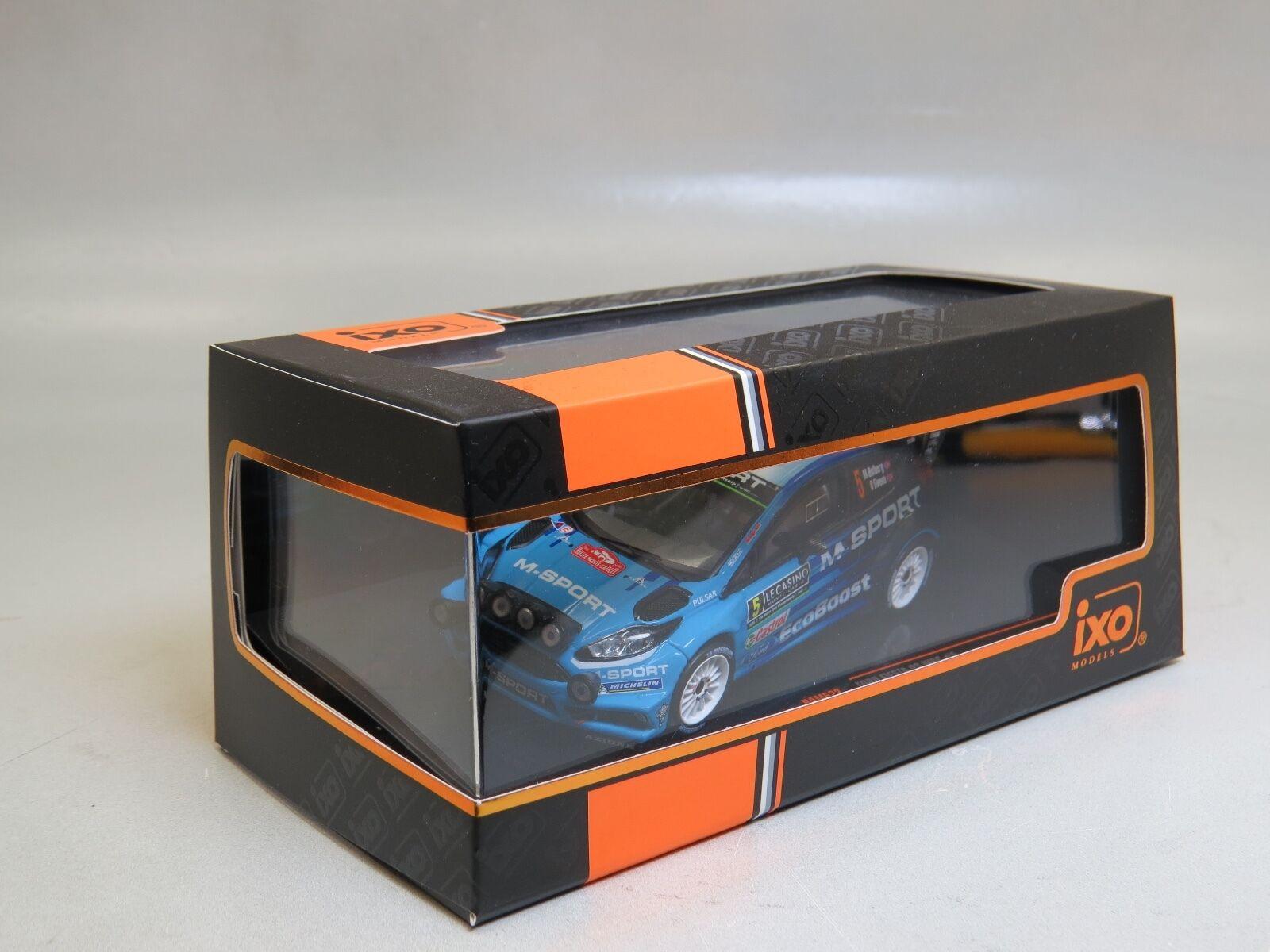 productos creativos Ford Fiesta Fiesta Fiesta RS WRC No. 5 M-Spo IXO RAM622 1 43  gran selección y entrega rápida