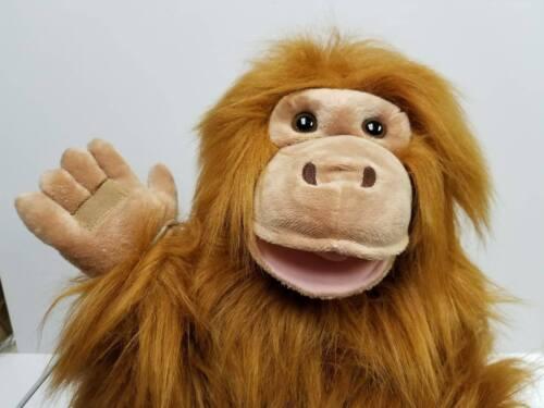 Large Orangutan Puppet Bundle w/ Arm Rod