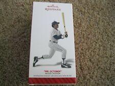 "OCTOBER  /""REGGIE JACKSON/"" NIB 2014 Hallmark Ornament New York Yankees MR"