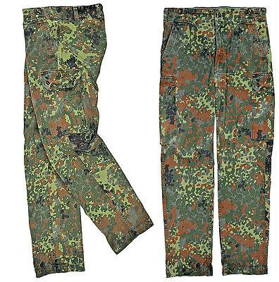 Original german army pants Bundeswehr camo flecktarn NEW Size: XXL 40/32 Quality