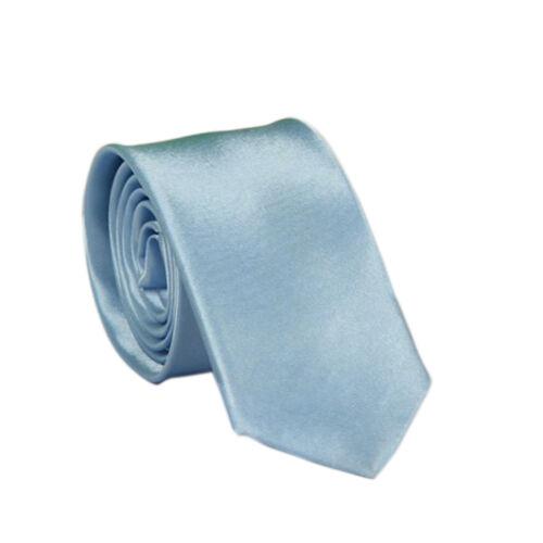 Classic Solid Plain of Jacquard Woven  Blend Men/'s Tie Necktie P/&T BN