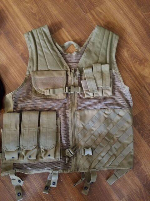Lancer Tactical Hunting Range Nylon Adjustable Cross Draw Vest Rig Kit CA-310