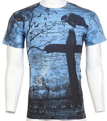 Truth Lies XZAVIER Mens T-Shirt BIKER MMA UFC Roar Xtreme Couture S-XXL $40 (20)