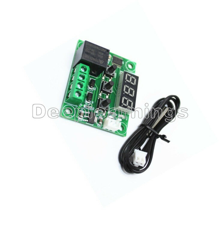 9-110°C DC 12V Red LED W1209//W1401 Digital Thermostat Temperature Controller