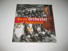 Wie ein Orchester funktioniert von Christoph Richter (2007, Gebunden)