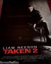 Cinema Banner: TAKEN 2 2012 (Advance) Liam Neeson Famke Janssen Maggie Grace