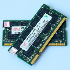 Hynix 4GB 2x2GB PC2-6400 DDR2-800 800Mhz 200pin DDR2 Laptop 4G Memory SODIMM RAM