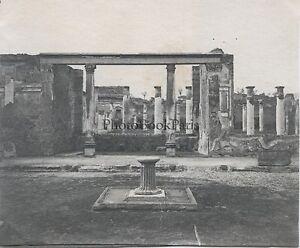 Pompei Italia Foto Radioamatore Vintage Ca