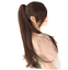 15-26-034-Claw-Jaw-Clip-Ponytail-Human-Hair-piece-100-Human-Remy-Hair-Extension thumbnail 2