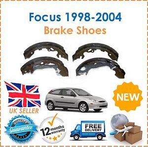 Per-FORD-FOCUS-MK1-1-4-1-6-1998-2004-Posteriore-Freno-Scarpe-Set-Nuovo-OE-Quality
