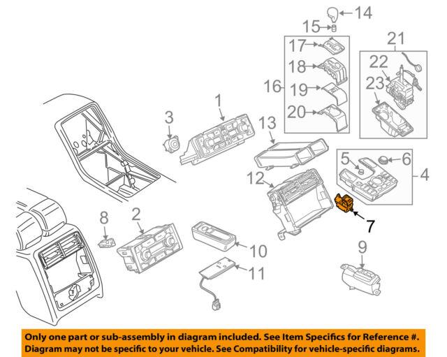 audi oem 08-09 a8 quattro parking brake-switch 4e1927225b