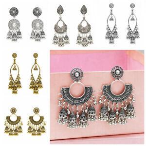 oreille-etalon-les-boucles-d-039-oreilles-de-cloches-tassel-des-bijoux-de-boheme