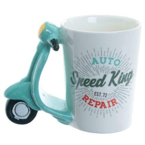 Shaped Handle Ceramic Mug Tea Coffee Cup Novelty Fun Present Gift Box Home Decor