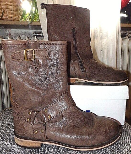 Belmondo Stiefel Biker Boots Country-Look Gr 39