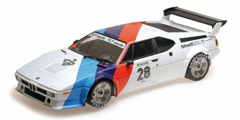 Bmw M1 Procar Bmw Motorsport Clay Regazzoni Procar Series 1979 1:12 Model