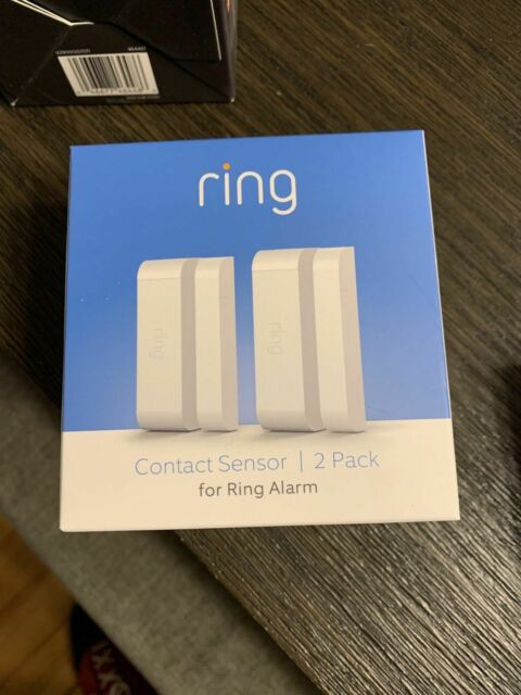 Ring - Alarm Contact Sensor ( 2 Pack ) White - 4XD3-S70ENO - Brand New