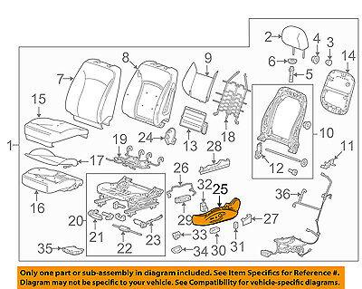 Chevrolet GM OEM 13-16 Malibu Driver Seat-Outer Finish Panel 22753131