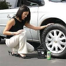 Smart Spare Wheel Tyre Inflator Puncture Repair fits VAUXHALL Free Gift