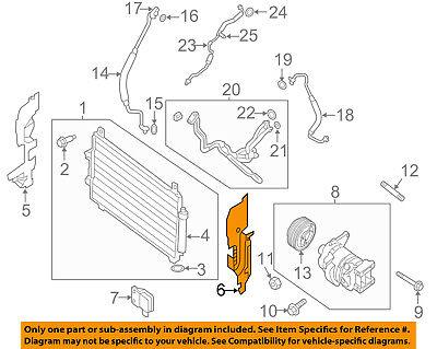 NISSAN OEM Pathfinder A//C AC Condenser//Compressor//Line-Side Seal Left 921853KA0A