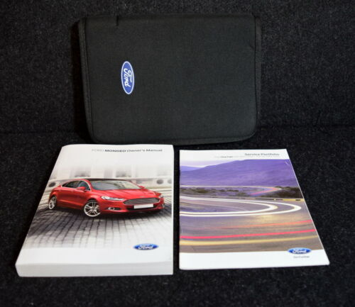 FORD MONDEO 2014-2018 HANDBOOK OWNERS MANUAL PACK NAVI WALLET SERVICE BOOK