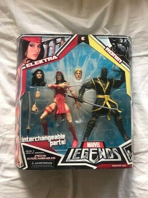 Elektra vs. Ronin Ronin Ronin marvel legends azione cifras 45f106