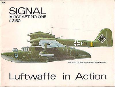 Squardon 1 Signal in Action Luftwaffe Rare Aircraft CSx1wqz0wf