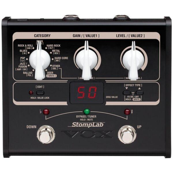 vox stomplab ig multi effects guitar effect pedal for sale online ebay. Black Bedroom Furniture Sets. Home Design Ideas