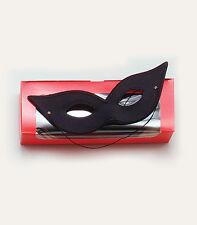Laser Eye Mask Masquerade Venetian Cat Woman EyeMask Fancy Dress Accessory BLACK