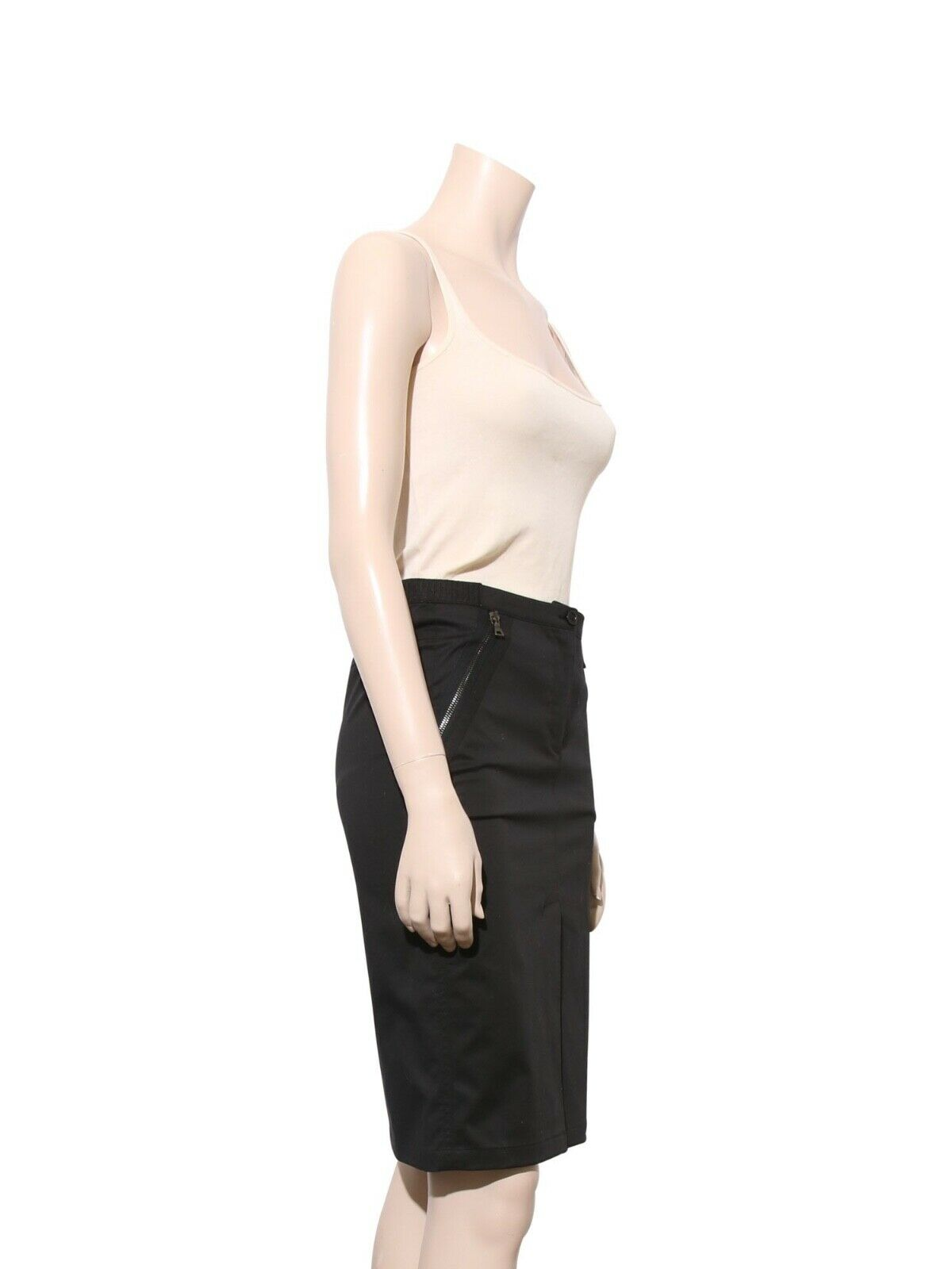 PRADA Cotton Pencil Skirt (Size 38) - image 2