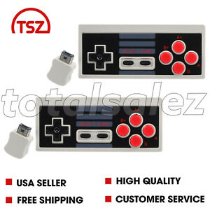 2-For-Nintendo-NES-Classic-Edition-Mini-Video-Game-Pad-Wireless-Controller