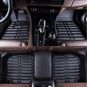 US-Car-Floor-Mats-Front-amp-Rear-Liner-Black-Waterproof-For-Honda-Accord-2014-2017