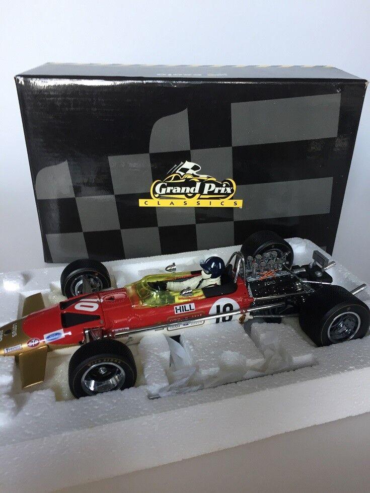 1:18 Exoto Lotus Ford 49B    10 G. Hill 1968 e96923