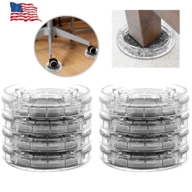 8pcs Adjule Heavy Duty Furniture Risers Sofa Bed Table Chair Riser Legs Lift