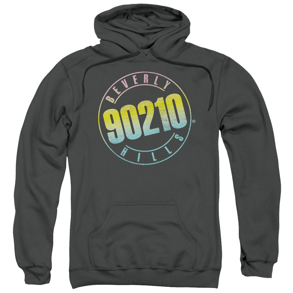 Beverly Hills 90210 COLOR BLEND LOGO Licensed Sweatshirt Hoodie