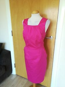 Ladies-TU-Dress-Size-16-Pink-Shift-Wiggle-Smart-Party-Office-Work