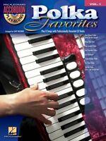Polka Favorites Sheet Music Accordion Play-along Book And Cd 000701705