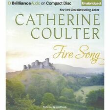 Fire Song (Medieval Song Series) - New - Coulter, Catherine - Audio CD