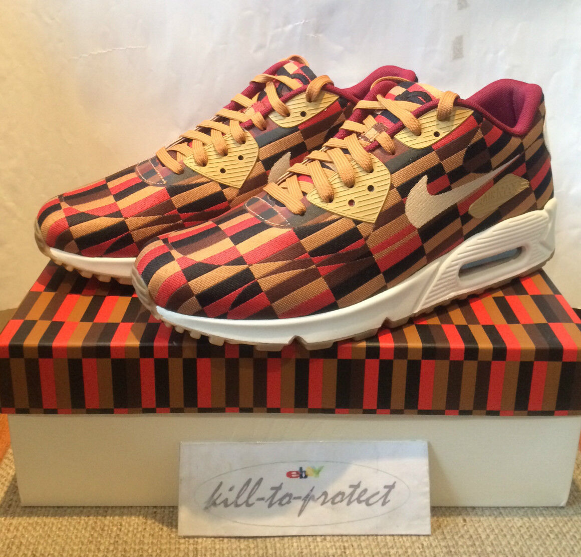 Nike air max 90 roundel london underground broccato 651322-106 2013