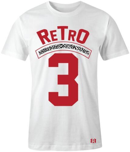 """/""""Retro 3/"""" T-Shirt to Match Retro /""""Katrina/"""" 3/'s"""