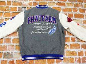 PHAT-FARM-VARSITY-COLLEGEJACKE-1992-FOOTBALL-VINTAGE-USA-GR-XXL-WIE-NEU