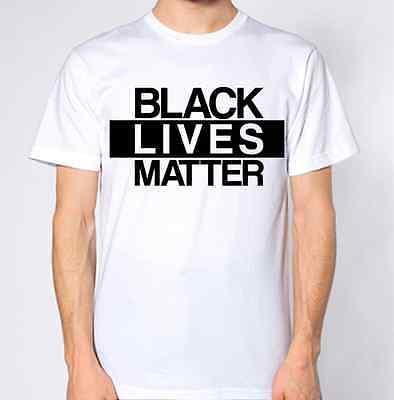 Prezzo Basso Nero Vite Contano T-shirt-mostra Il Titolo Originale