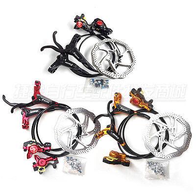 NEW 2015 ZOOM HB-780 Mountain bike Hydraulic Disc Brakes +2pcs 160mm rotors.
