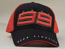 JORGE LORENZO 99 TRUCKER CAP GORRA OFICIAL MOTO GP 2017 NEGRO 1741202 ADULTO